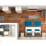 Hotel - Doppelzimmer - Grundriss