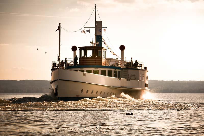 Ammersee Dampferrundfahrt