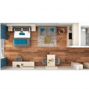 Apartment Business - Grundriss